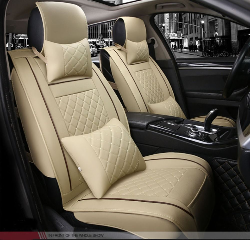 Best Fashion Luxury Leather Car Seat Cover For Jeep Wrangler 2008 2016 2 Door