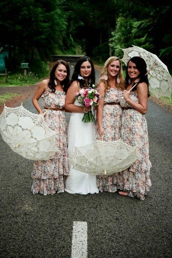 145a04425e6 www.weddbook.com everything about wedding ♥ Bridesmaid Dress  wedding  dress   gown  lace  umbrella  bridesmaid