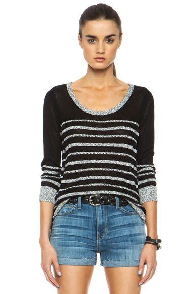 rag & bone|Azra Knit Pullover in Black