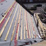 Felting And Latting Roofs In Kerry Cork And Limerick Roofer Weather Seal Galway