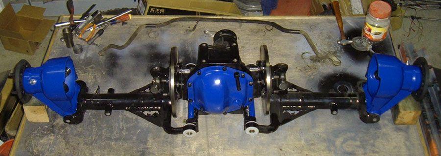 Dazecars Transplant Jaguar Independent Rear Suspension 49
