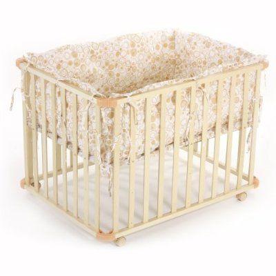 baby vivo parc pour bébé rectangulaire 100x75 crème