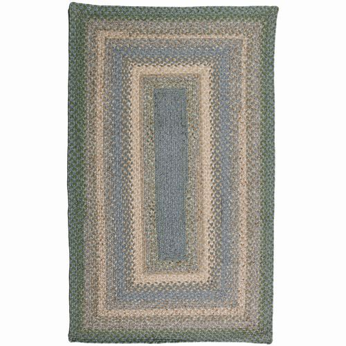 Baja Blue Cotton Braided Rug By Homespice Braided Rugs Rugs Colorful Rugs
