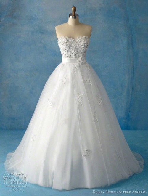 Wow Alfred Angelo made wedding dresses based on Disney Princess ...