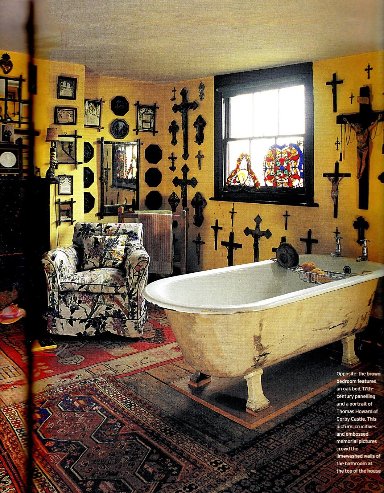 These Crosses Make For The Creepiest Bathroom Decor Ever