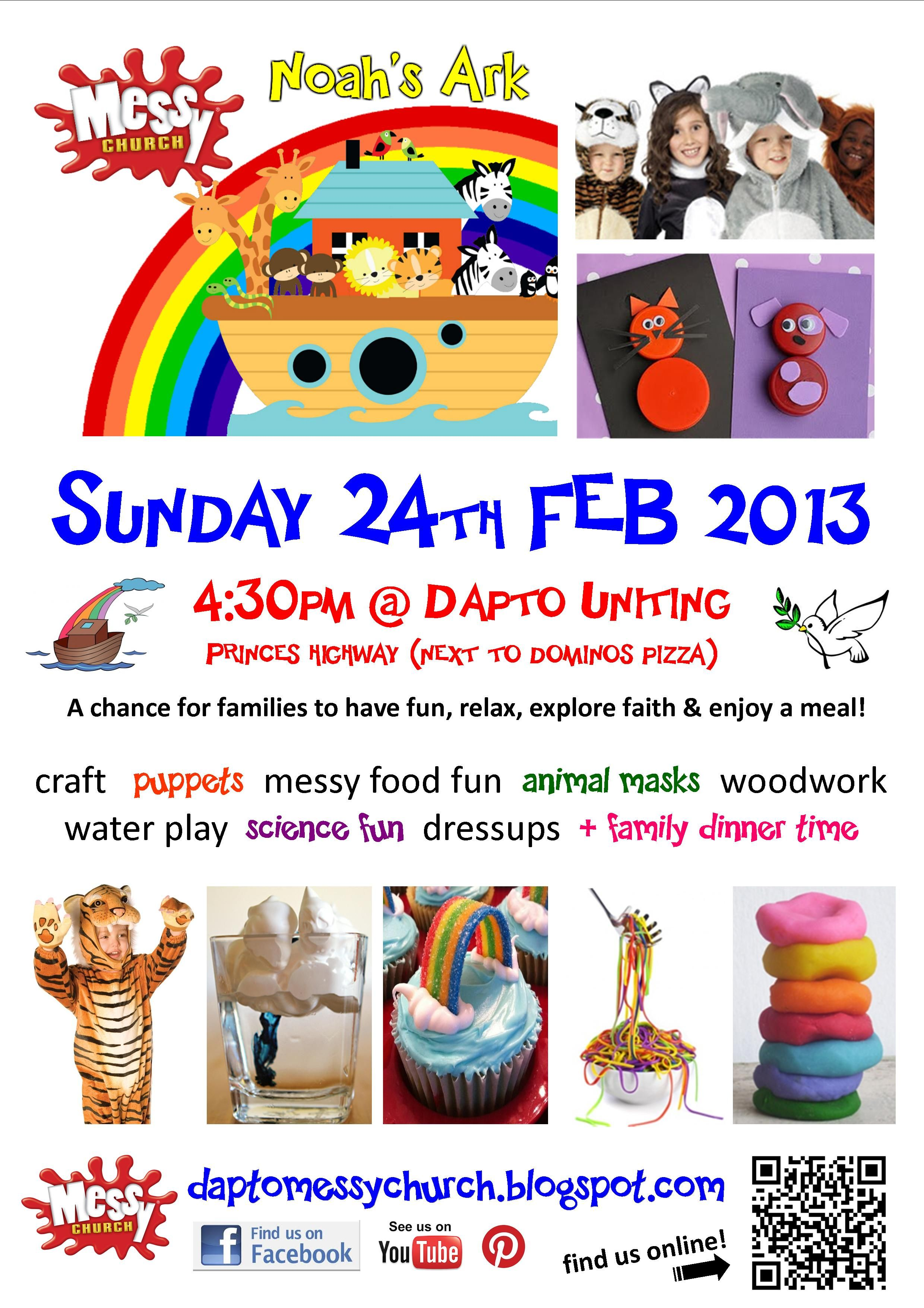 Our February 2013 Messy Church flyer - \