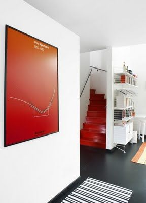 Red stairs!