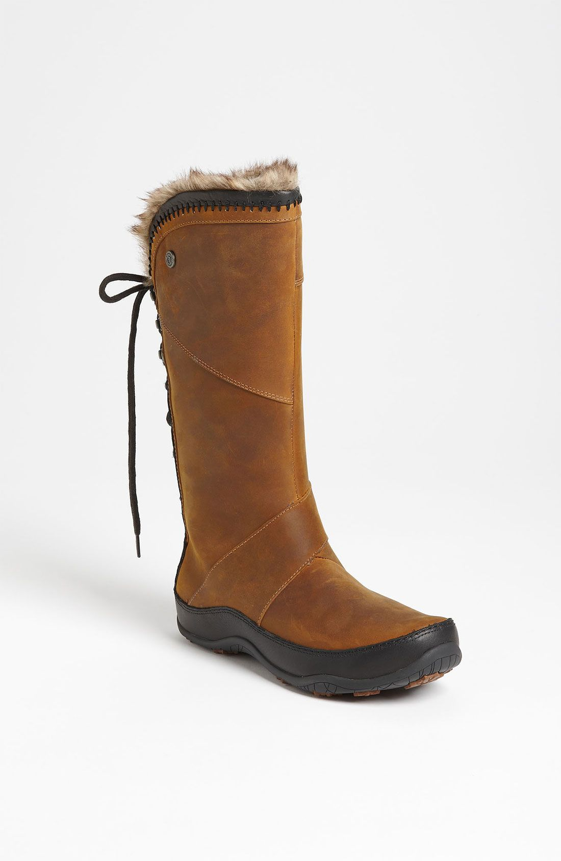efd6d03f351 The north face Janey Ii Luxe Waterproof Boot in Brown (camel brown ...