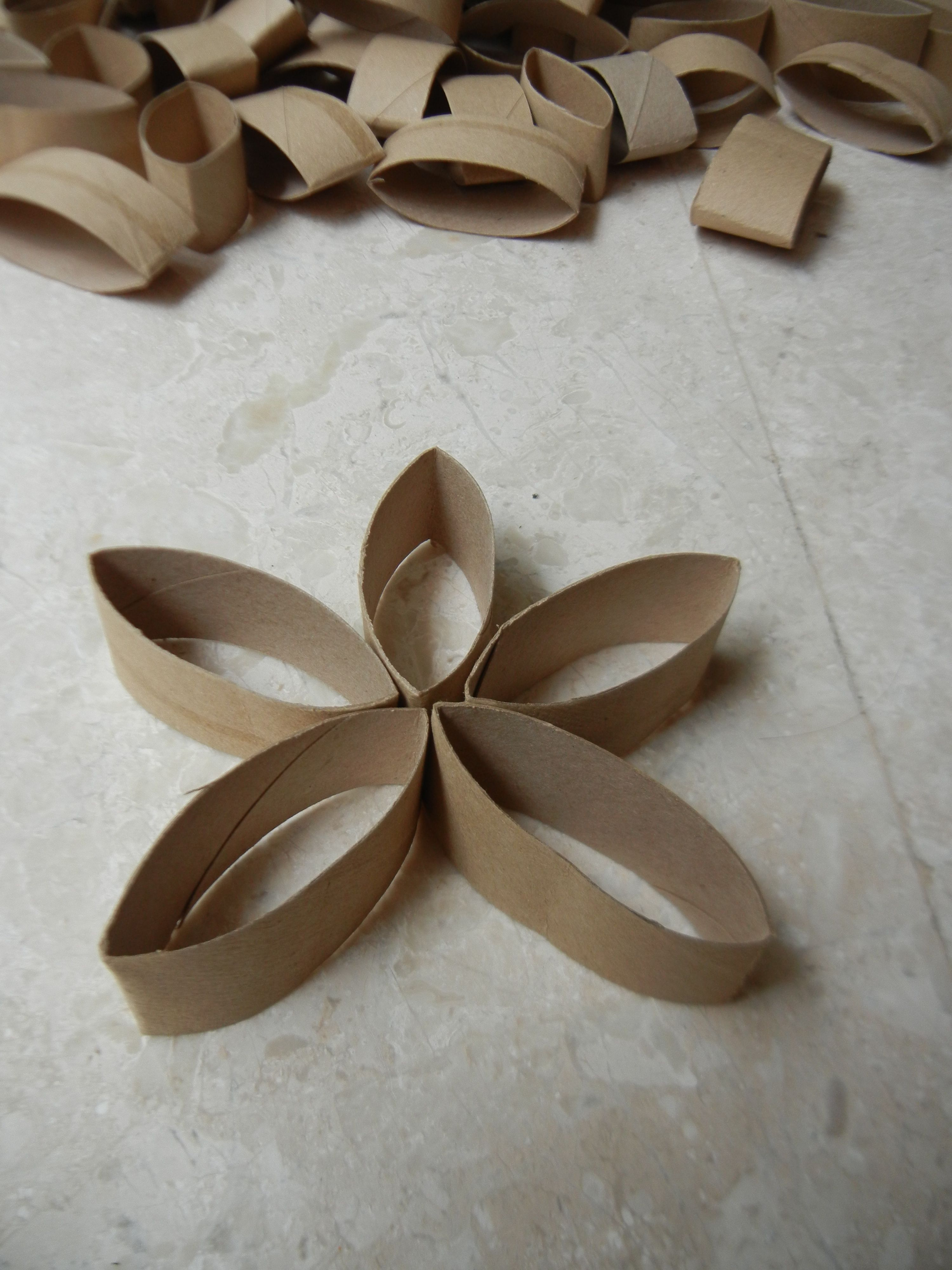 Toilet Paper Roll Flower Using Student Friendly Glue See What