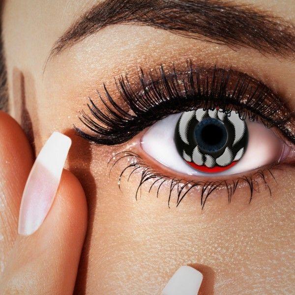 Halloween Kontaktlinsen, Tierlinsen, Farb-Vampirlinsen