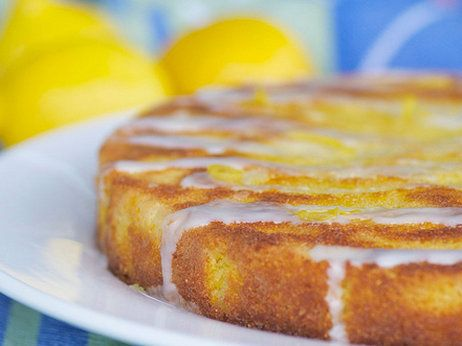 Citrus-Polenta Cake With Limoncello Icing