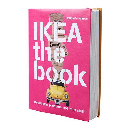 IKEA - IKEA THE BOOK, Kirja, IKEA-kalusteiden suunnittelijat ovat usein tuntemattomia suurelle yleisölle. Tämä kirja esittelee heidät ja kertoo heidän suunnittelutyönsä helmistä.