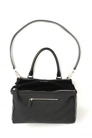 Givenchy Pandora bag medium black. Black calf leather hand bag or shoulder  bag da8c9e620cf76