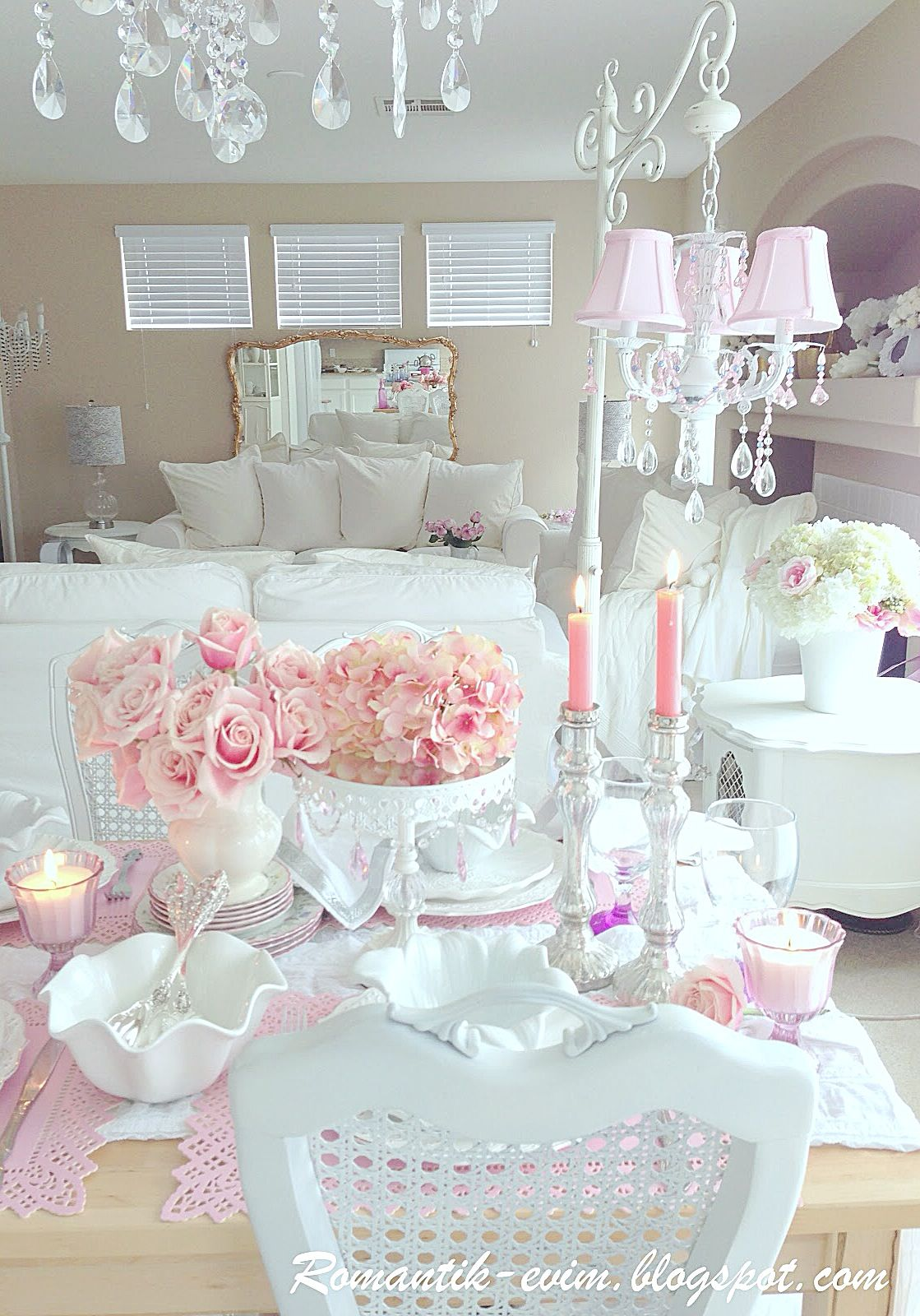 Shabby Chic Shabby Chic Junkies Pinterest Shabby Shabby Chic Dining And Room