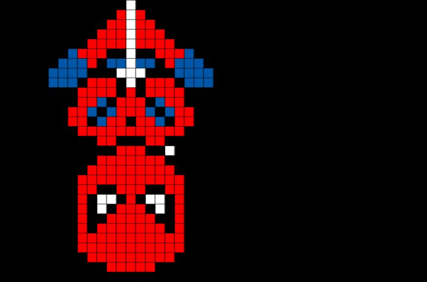 Spider Man Pixel Art Spiderman Pixel Art Pixel Art