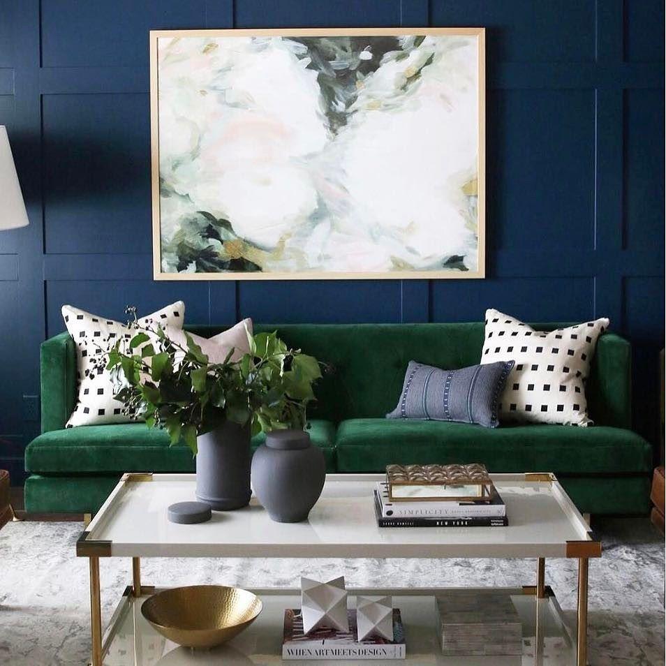 Best Room Crush Wednesday Featuring Cb2 Avec Emerald Sofa — 640 x 480