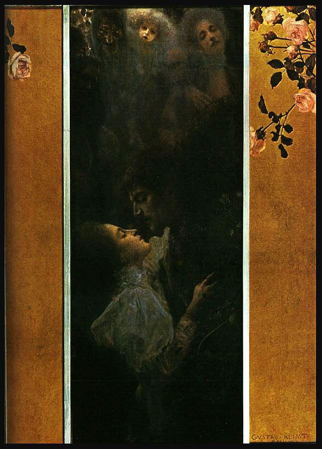 Love, 1895 Gustav Klimt