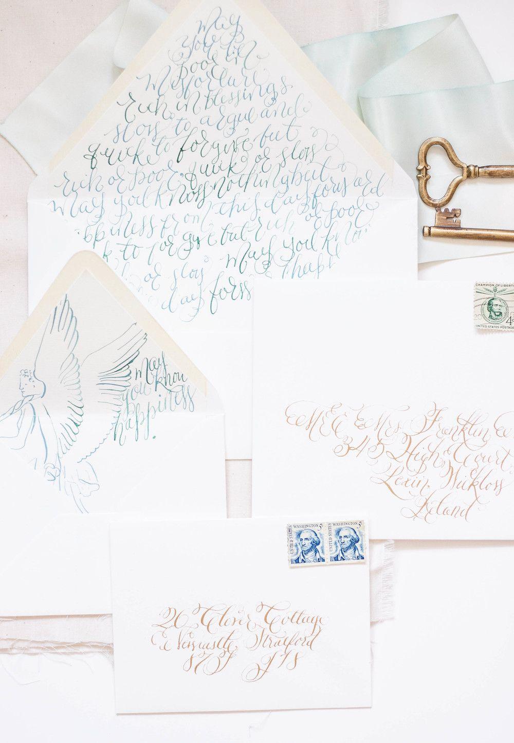 Beau Design House Of Moira | Calligraphy Wedding Invitations | Ireland