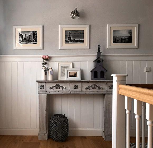Beadboard De Holzverkleidung Wande Im Flur Stilvoll Und Einfache Montage Wand Mit Holz Verkleiden Holzverkleidung Wandverkleidung Holz