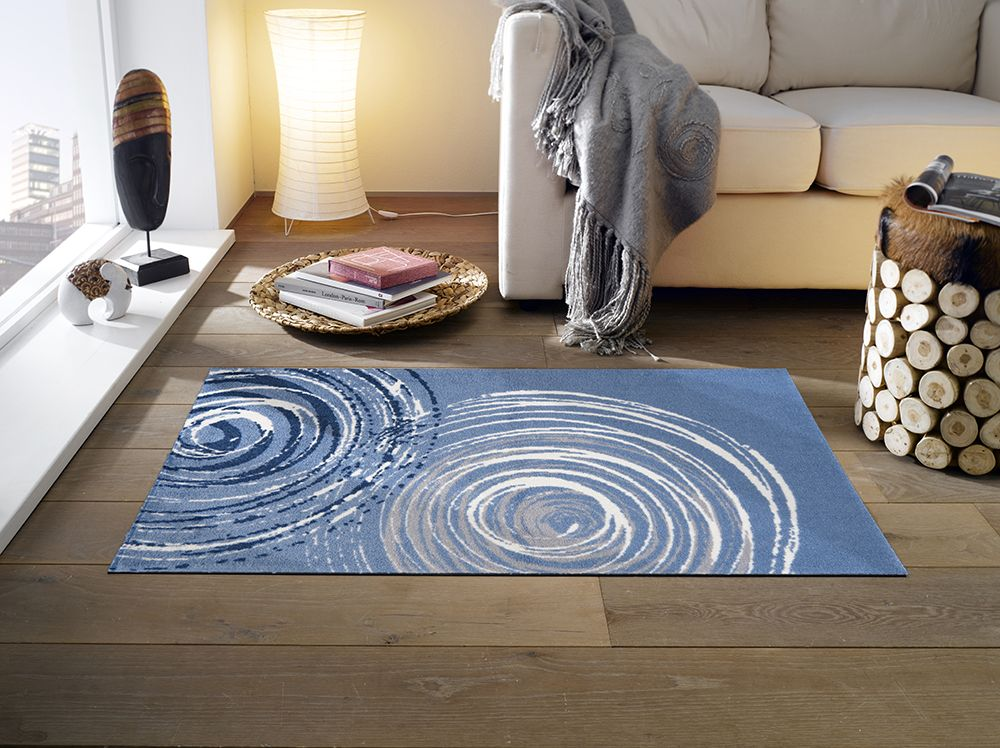 Contemporary | Swirl Pattern | Patterned Floor Mat | Designer Floor on table cover for home, designer welcome mats, speakers system for home,