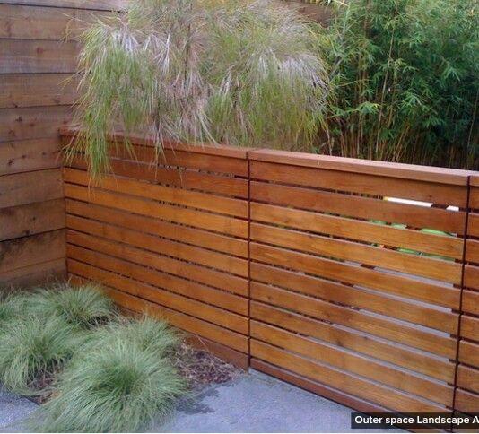 Nice Divider Modern Landscaping Modern Fence Modern Fence Design