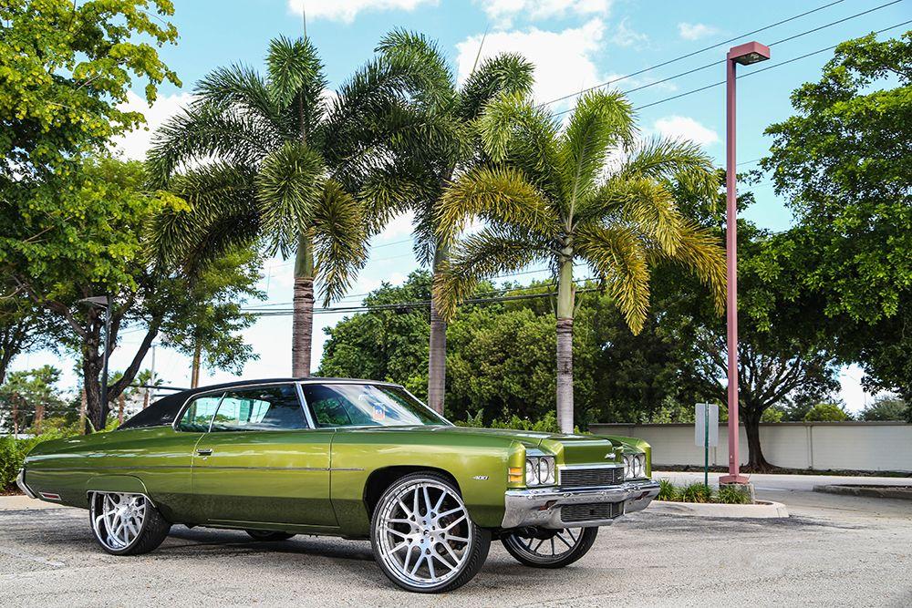 1972 Chevy Impala on 26\'s | Forgiato | Want | Pinterest | Cars ...