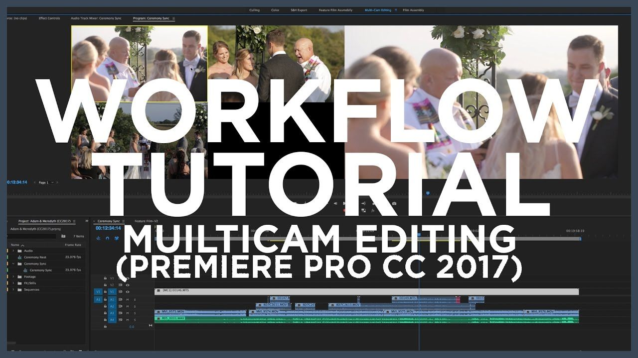 Multicam editing tutorial adobe premiere pro cc 2017 wedding multicam editing tutorial adobe premiere pro cc 2017 wedding filmmakers baditri Images