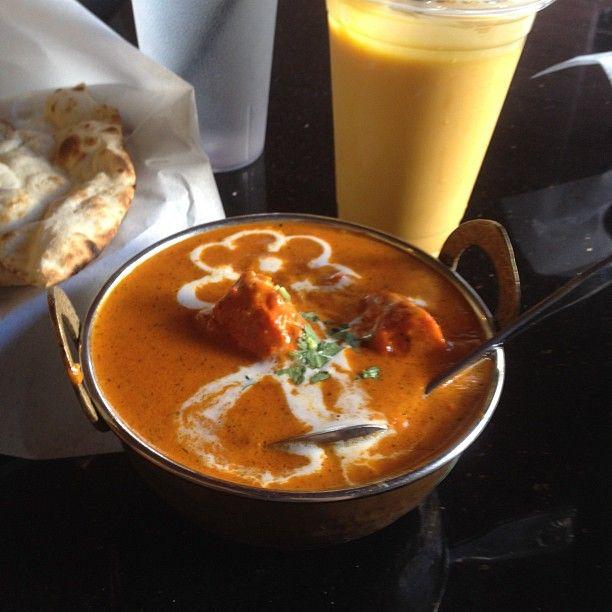Chicken Butter And Mango Lassi Makanan Resep Makanan India Kesehatan