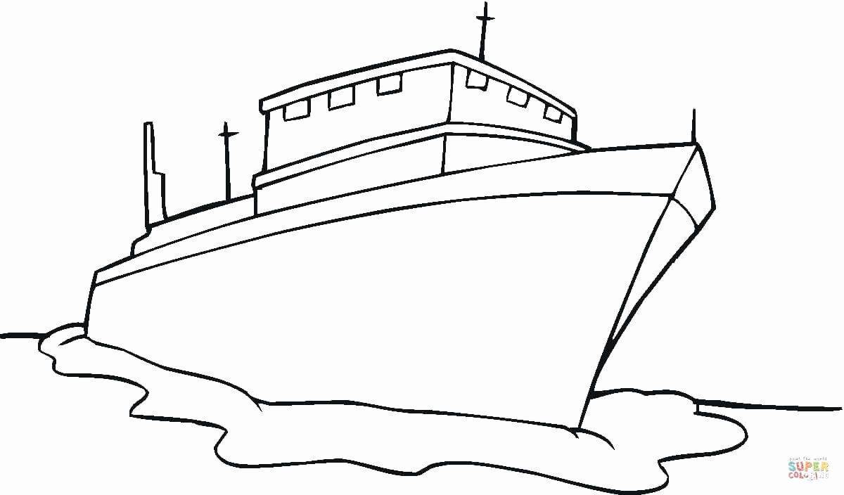 Cruise Ship Coloring Page Beautiful Ship Coloring Page In 2020