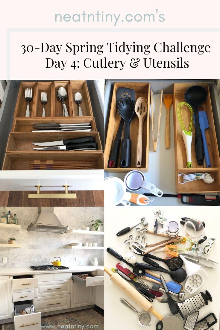 how to organize utensil drawer