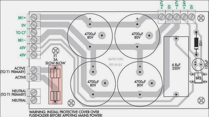 200w Subwoofer Amplifier Circuit Amplifiercircuits Circuits
