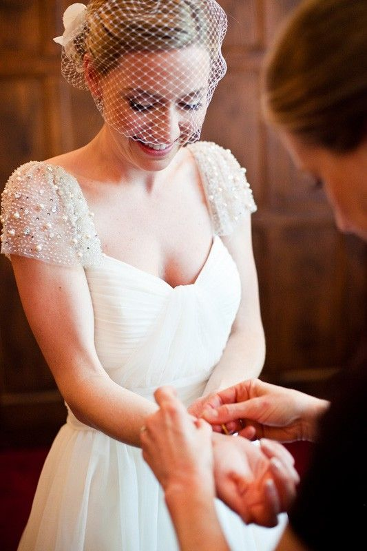 Trend alert cap sleeve wedding dresses wedding dress for Adding sleeves to a wedding dress