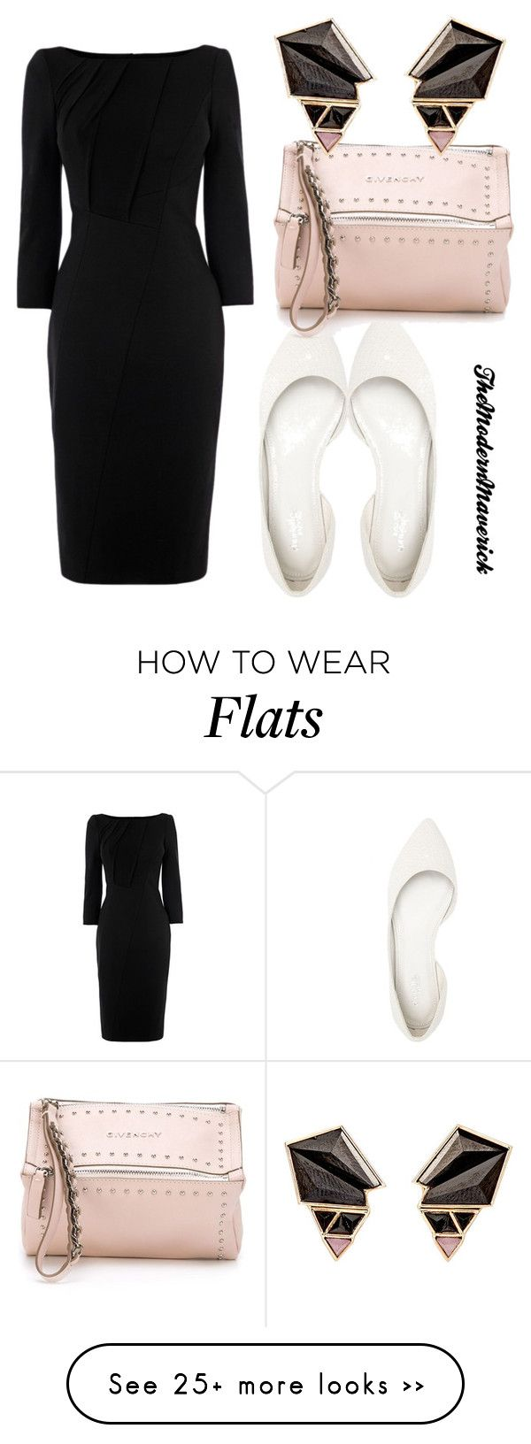 """""""Untitled #1377"""" by theblushingbeauty on Polyvore featuring Charlotte Russe, Givenchy and Nak Armstrong"""