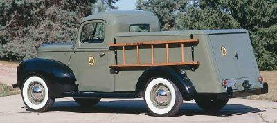 1940 Ford Pickup Originally Used By The Bell Telephone