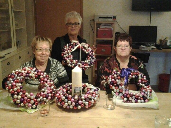 Kerst knutselen met vriendinnen kerstknutselen for Kerst ideeen voor in huis