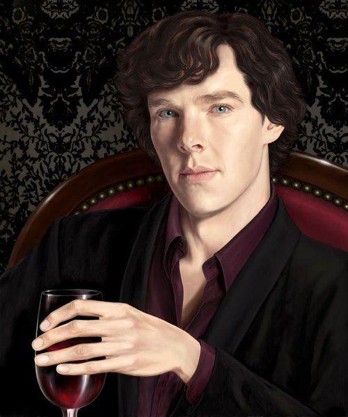 Sherlock. Nicely painted from anastasia-artist