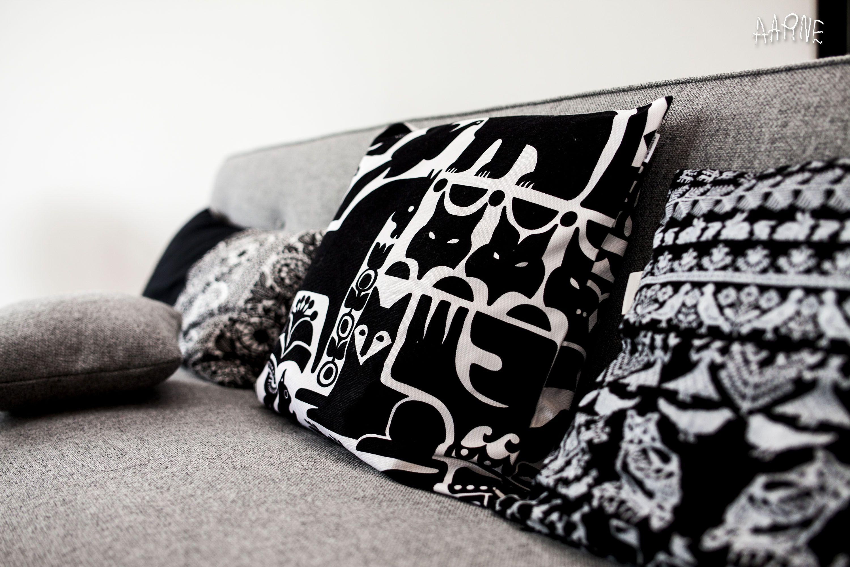 Saana Ja Olli : Happy home pillows from marimekko and saana ja olli happy home