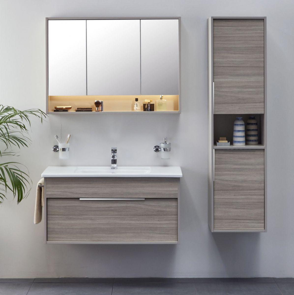 Vitra Integra Medium 80cm Vanity Unit With Basin Basin Vanity Unit Vanity Units Vanity