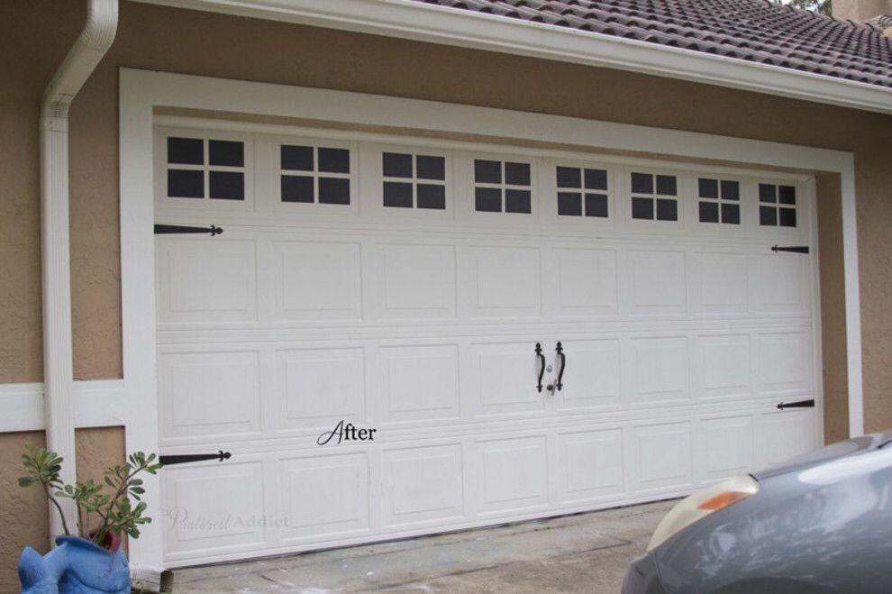 19 Hella Cheap Ways To Make Your Home Look More Expensive Garage Door Trim Garage Doors Cheap Garage Doors