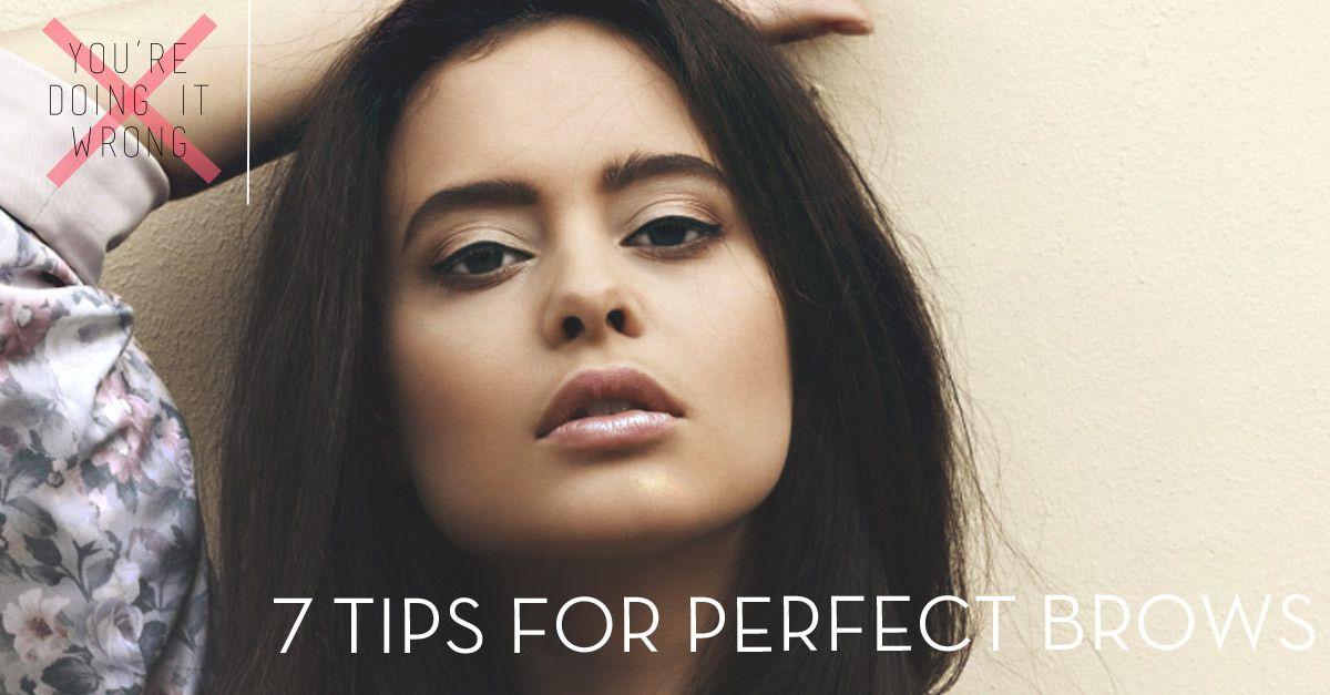 Tips For Perfect Eyebrows Pinterest Anastasia Soare Anastasia