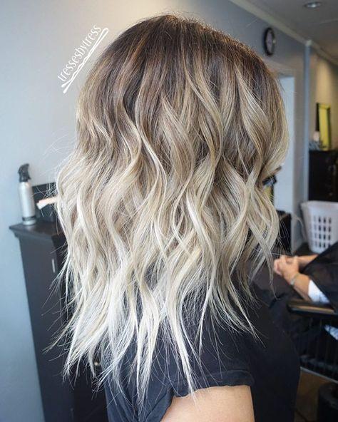 Couleur cheveux tendance blonde