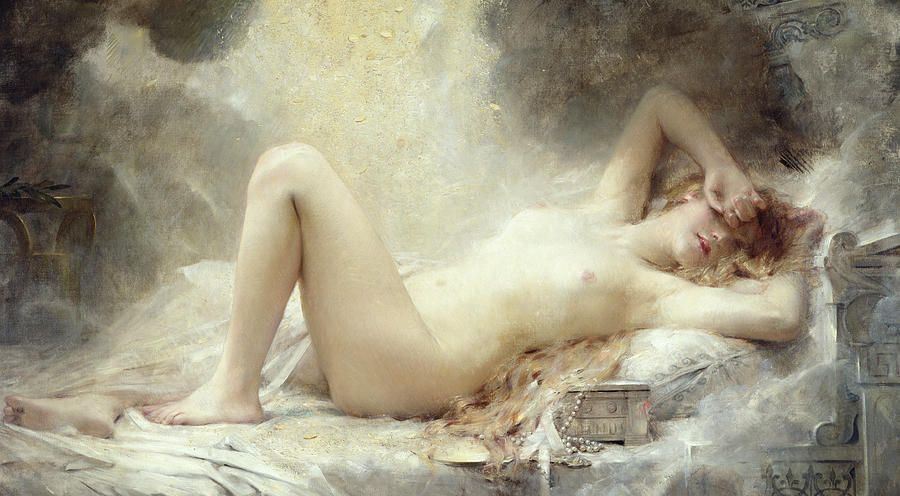 nude Fine paintings art