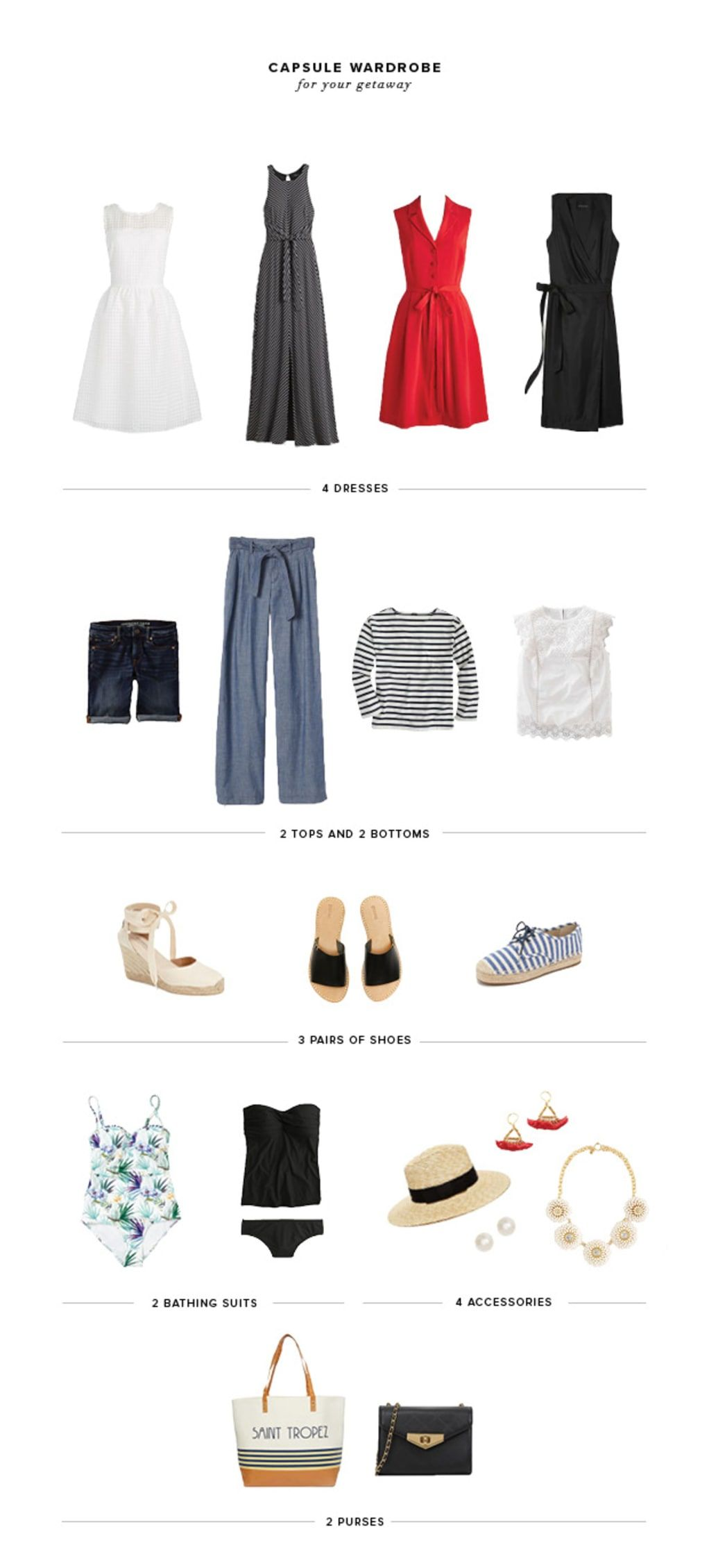 How to Create a Beach-Ready Capsule Wardrobe for Your Next Getaway | Verily