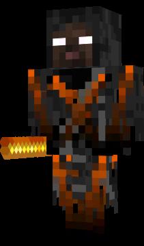 Herobrine Lava Ghost NovaSkin Gallery Minecraft Skins - Skins para minecraft pe fantasma