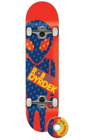 "Alien Workshop Complete Skateboard Dyrdek Soldier 7.75"""