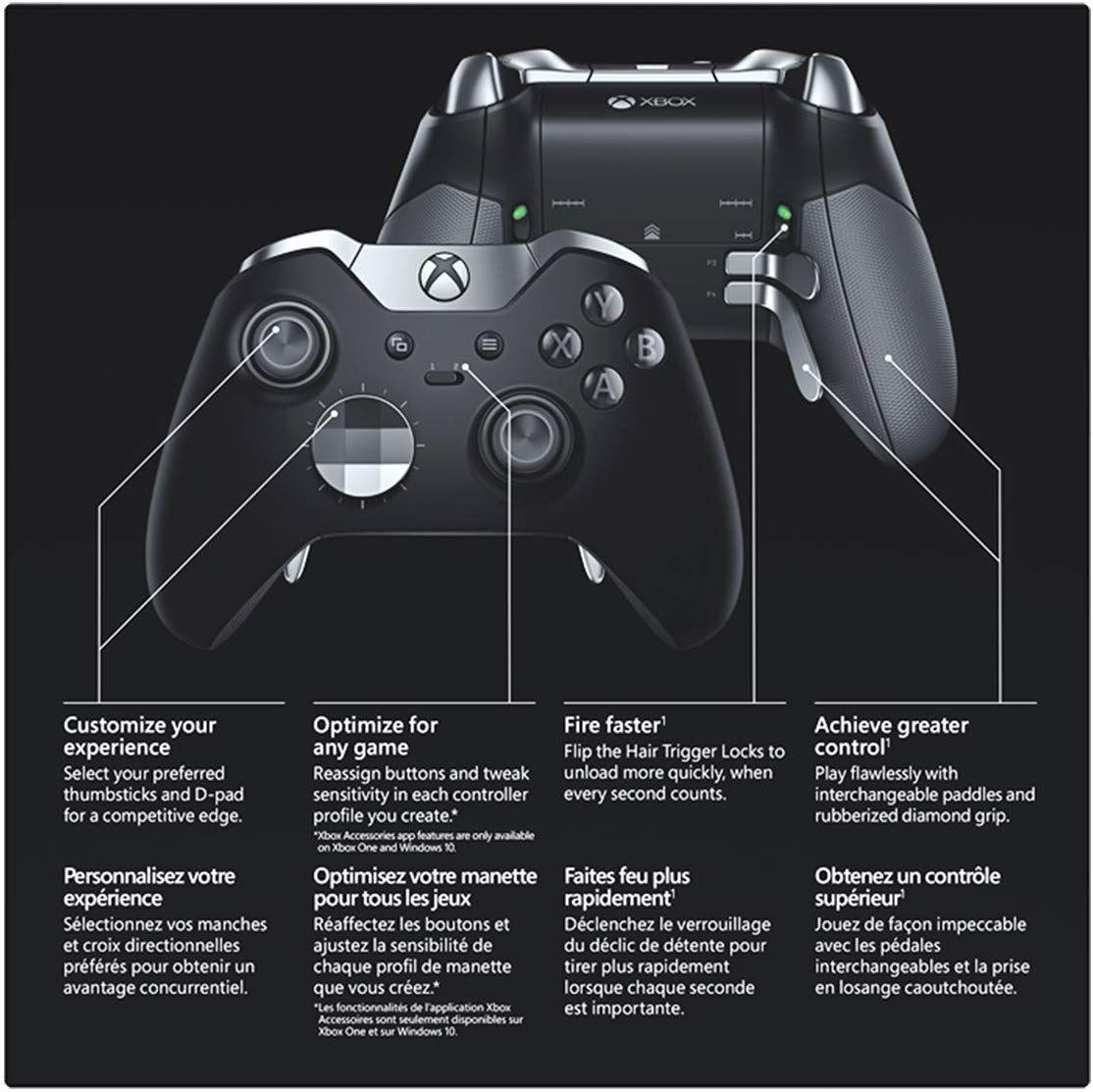 Amazon com: Xbox Elite Wireless Controller: xbox one: Video