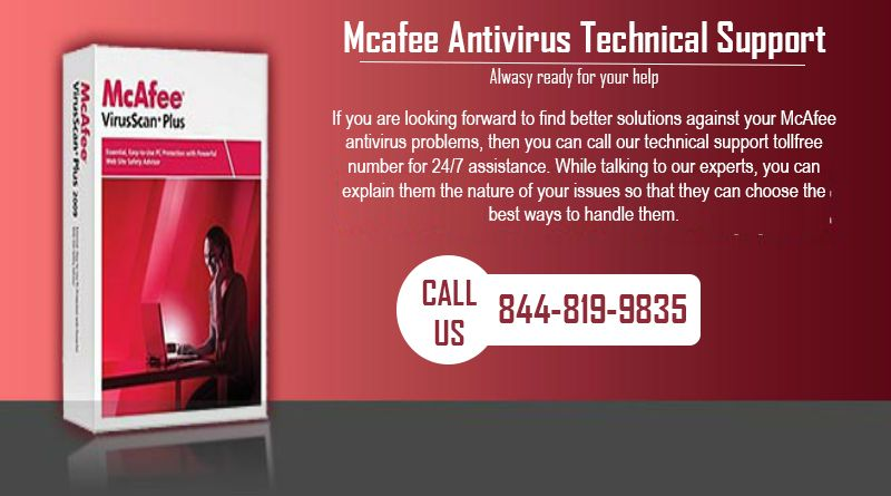 McAfee Update & Uninstall   McAfee Technical Support @ 844-819-9835