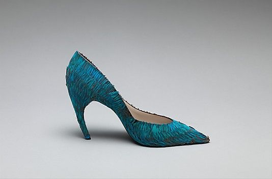 Evening shoes House of Dior Designer: Roger Vivier (French, 1913–1998) Date: 1960