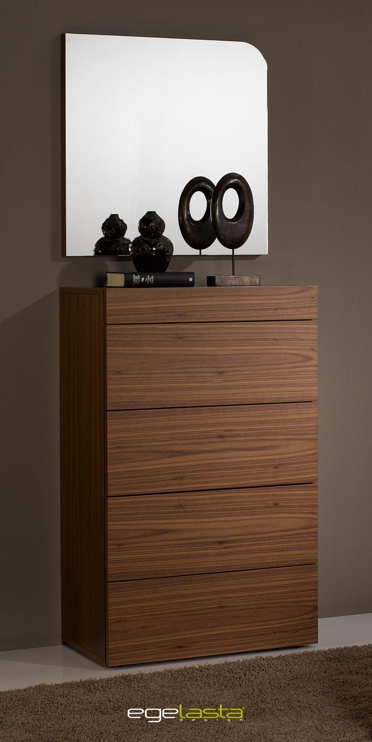 Egelasta Mueble Moderno Madera Nogal Americano Frente  # Muebles Bufeteros Modernos