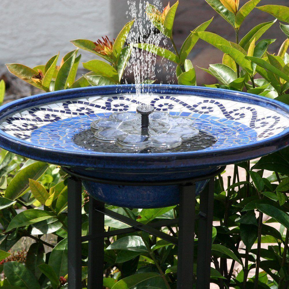 Tekhome 2019 Neu Solar Springbrunnen 1 6w Vogelbad Brunnen Garten Deko Gartendeko Solar Fontane Gartenbrunnen Pumpe Solar Springbrunnen Aussenbrunnen Vogelbad